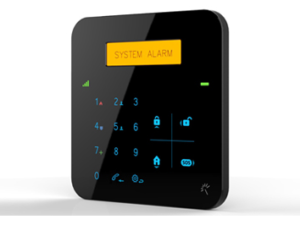 GSM & WiFi Dual-Net Touch Alarm System