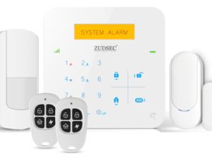 GSM & WiFi Dual-Net Touch Alarm System -APP Control